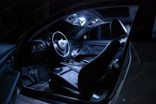 BMW - E92 - 335i - LED - interior - lights - 4